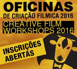 OFICINAS DE CRIAÇÃO FILMICA 2016