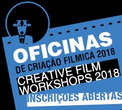 OFICINAS DE CRIAÇÃO FILMICA 2018